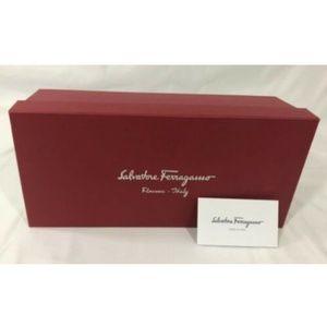 Salvatore Ferragamo Empty Shoes Gift Box Red